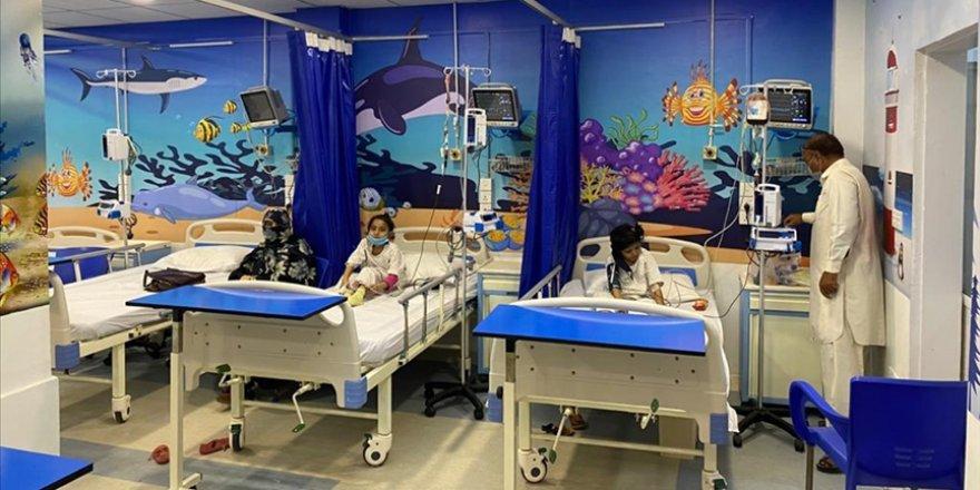 TİKA kan hastası çocuklar için Pakistan'ın ilk ara yoğun bakım ünitesini açtı