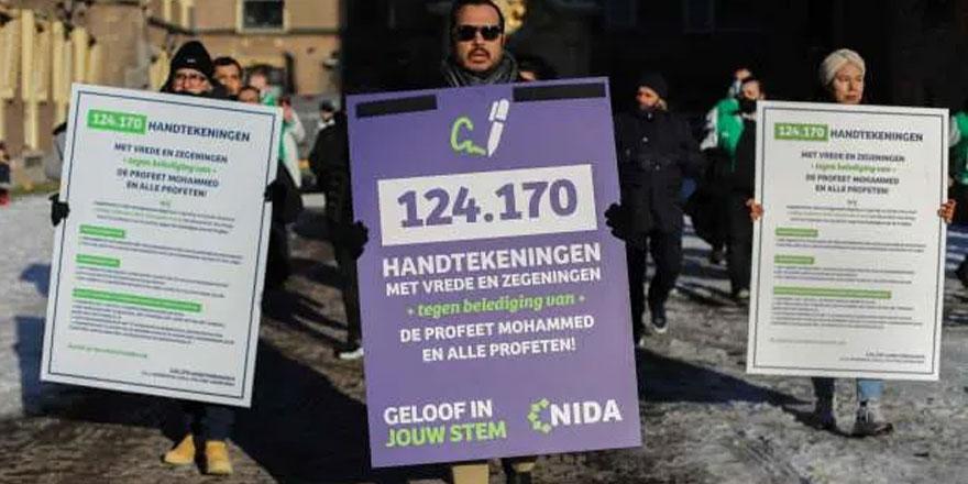 Hollanda'da Hz. Muhammed'e hakaretin suç sayılması için 124 bin imza toplandı