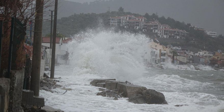 Meteoroloji'den Orta ve Güney Ege'ye uyarı: Fırtına geliyor
