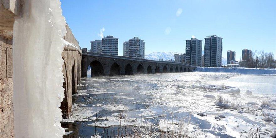 Sivas'ta termometreler sıfırın altında 26,3 dereceyi gördü