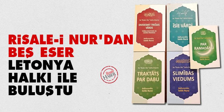 Risale-i Nur'dan beş eser Letonya halkı ile buluştu