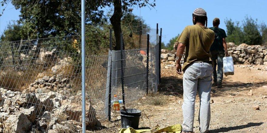 Yahudi yerleşimcilerin Batı Şeria'da Filistinlilerin koyunlarını çaldığı iddiası