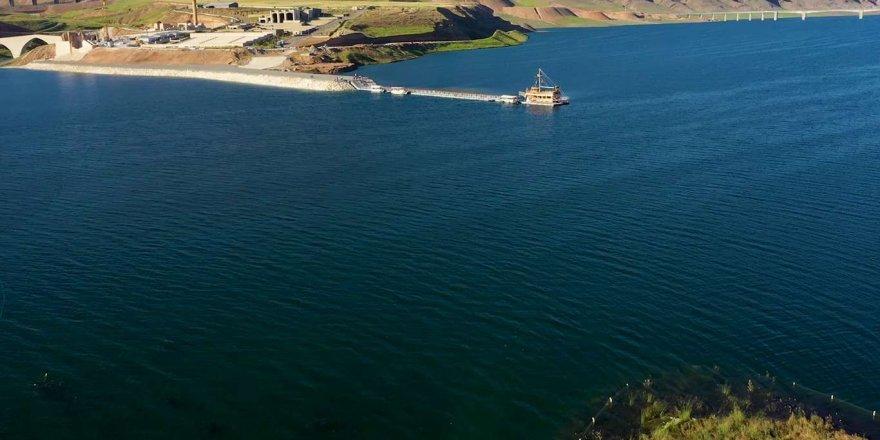 Ilısu Baraj Gölü'ne girilmemesi uyarısı yapıldı