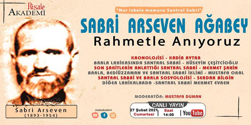 Santral Sabri Arseven ağabeyi anma programı