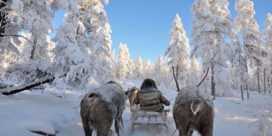 Rusya'da bazı bölgelerde hava sıcaklığı eksi 54