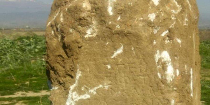 İzmir'de 2 bin yıllık kitabe bulundu