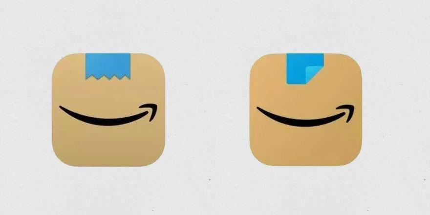 Amazon'un logusu Hitler'e benzetilince değişti