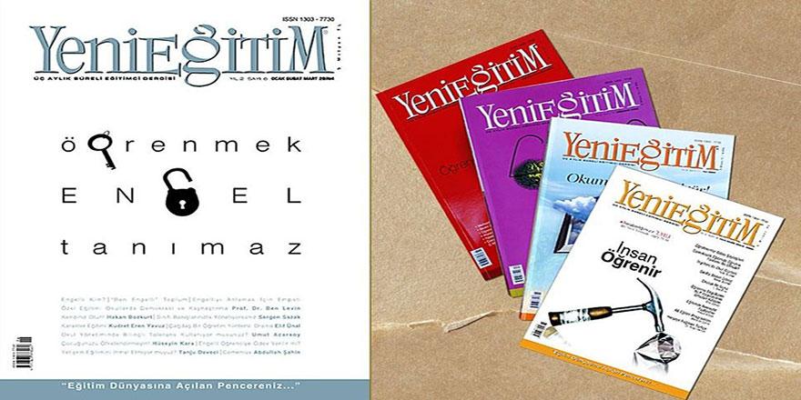 Eğitimcilerin başucu danışmanı Yeni Eğitim Dergisi web sayfasıyla yayında!