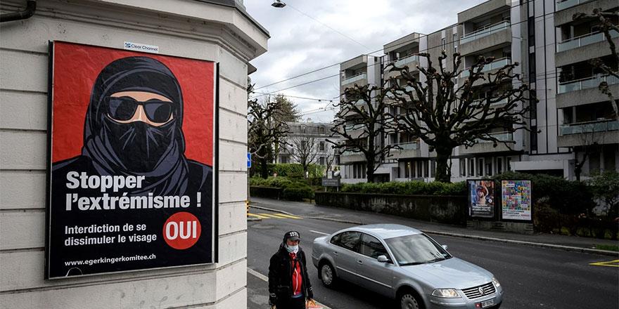 İsviçre'de kimsenin giymediği burka referandumla yasaklandı