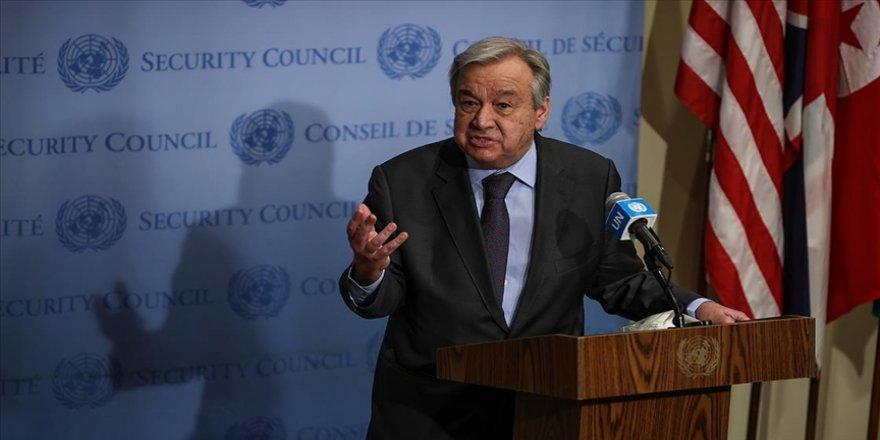 BM Genel Sekreteri Guterres'ten İsrail ve Filistin'e 'Ramazan Bayramı hatırına' gerginliği azaltma çağrısı