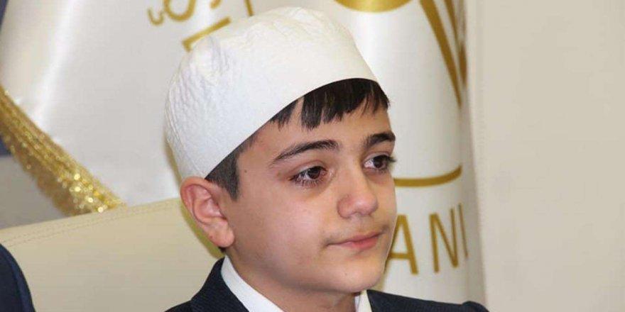 Maşallah! 14 yaşındaki İshak 8 ayda hafız oldu