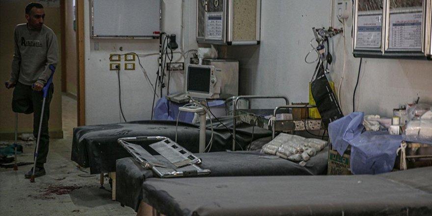 Esed rejiminin Halep'te hastaneyi vurması binlerce sivili mağdur etti