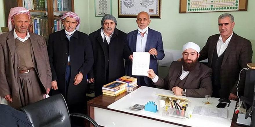 Şeyh önderlik yaptı Siirt'te 'başlık parası' kaldırıldı