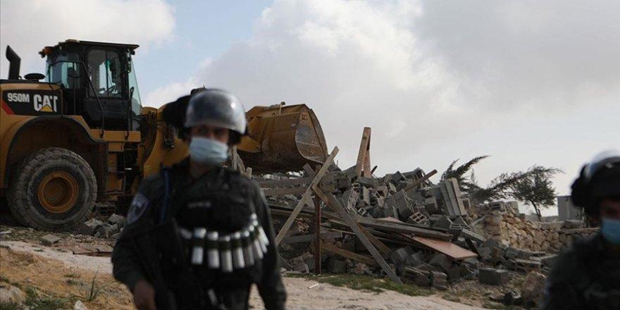 Filistinlilere ait evler haksız yere yıkılıyor