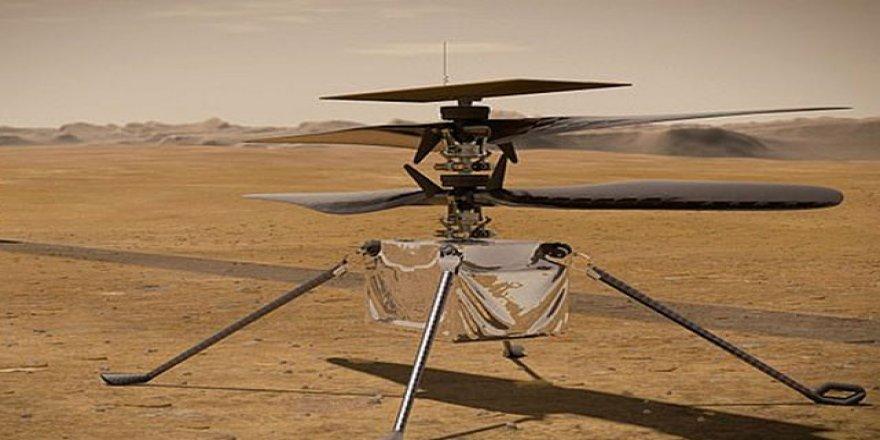 NASA'nın Mars helikopteri Ingenuity'nin ilk test uçuşu ertelendi