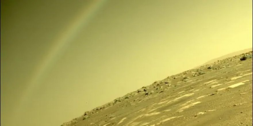 Mars'ta gökkuşağı var mı?