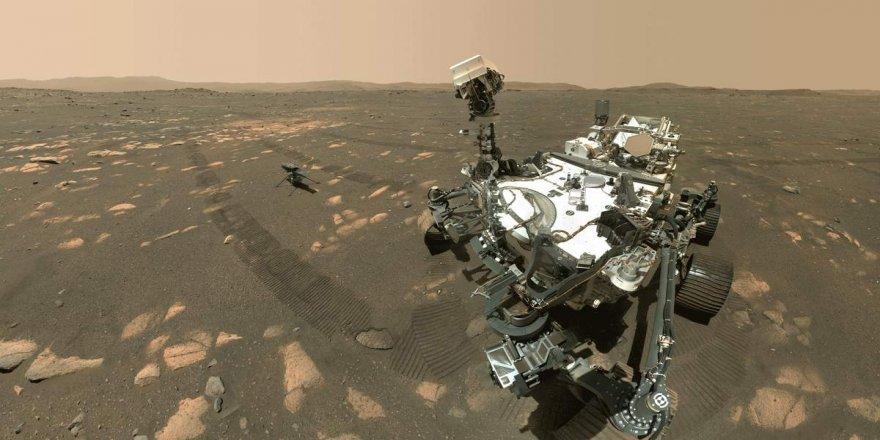 NASA'nın Perseverance aracından Mars taşlarının yakın görüntüleri geldi