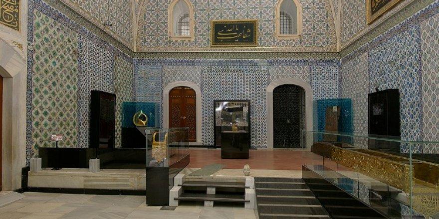 Topkapı Sarayı'nın Hırka-ı Saadet Dairesi ramazan ayında ziyaretçilerini bekliyor
