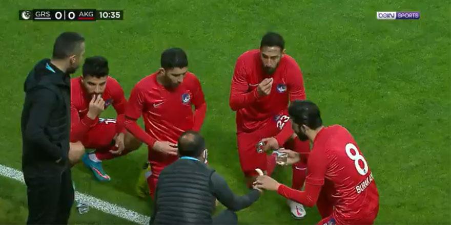 Futbol maçlarına iftar düzenlemesi