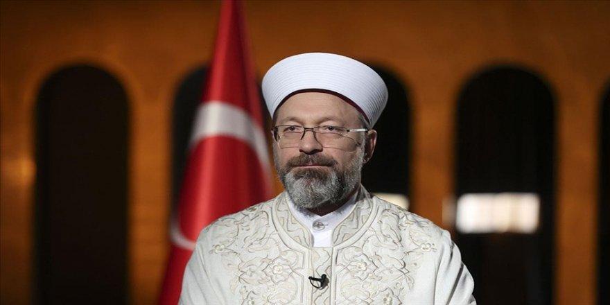 Diyanet İşleri Başkanı Erbaş'tan KKTC Anayasa Mahkemesinin Kur'an kurslarına ilişkin kararına tepki