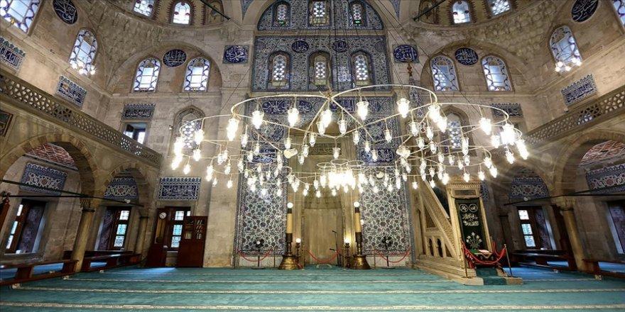 Sokullu Mehmet Paşa Camisi'nde 'cennetten' gelen parçalar var