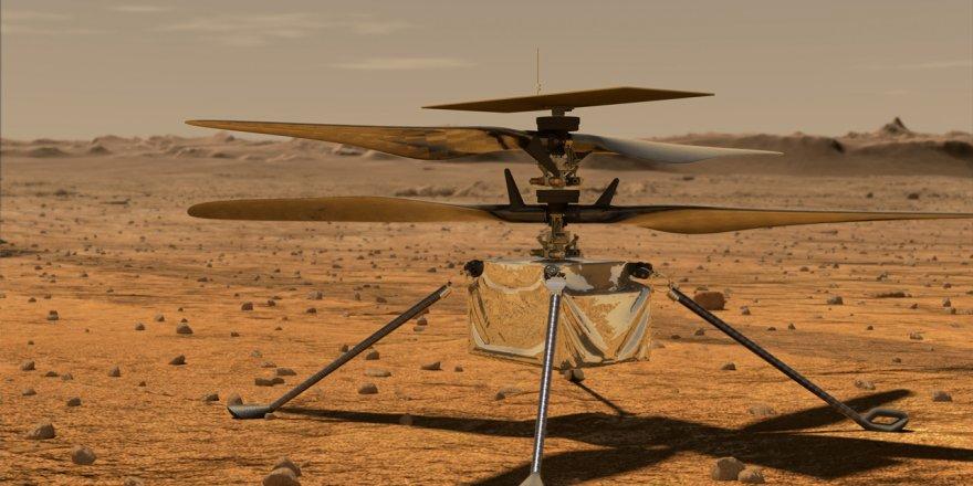 Mars helikopteri Ingenuity'nin ertelenen uçuş tarihi açıklandı