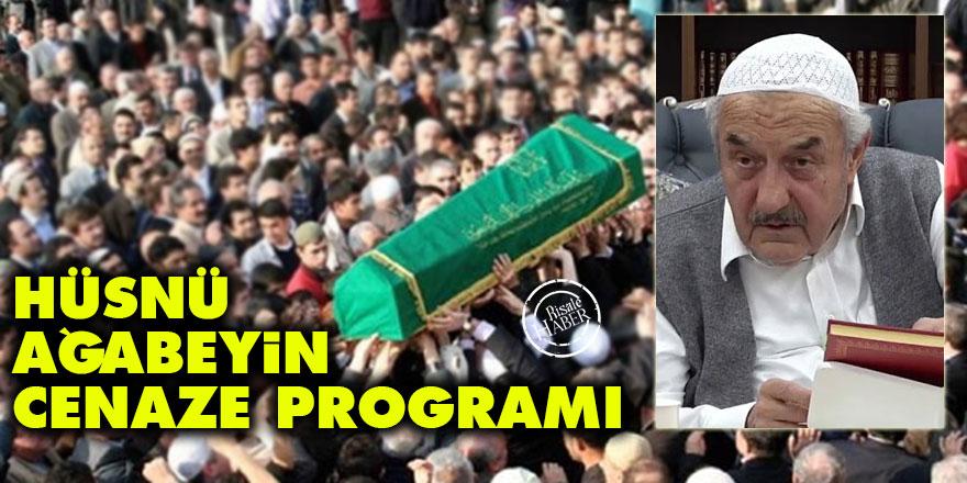 Hüsnü Bayramoğlu Ağabeyin cenaze programı