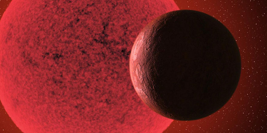 Kırmızı cüce yıldızın yörüngesinde yeni bir 'süper Dünya' tespit edildi