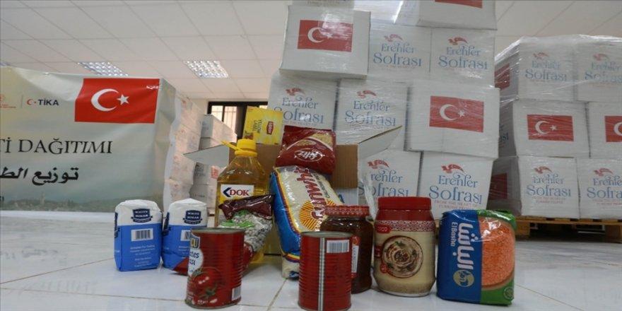 TİKA, Filistin'de Ramazan ayı boyunca 14 bin 500 aileye gıda yardımında bulunacak