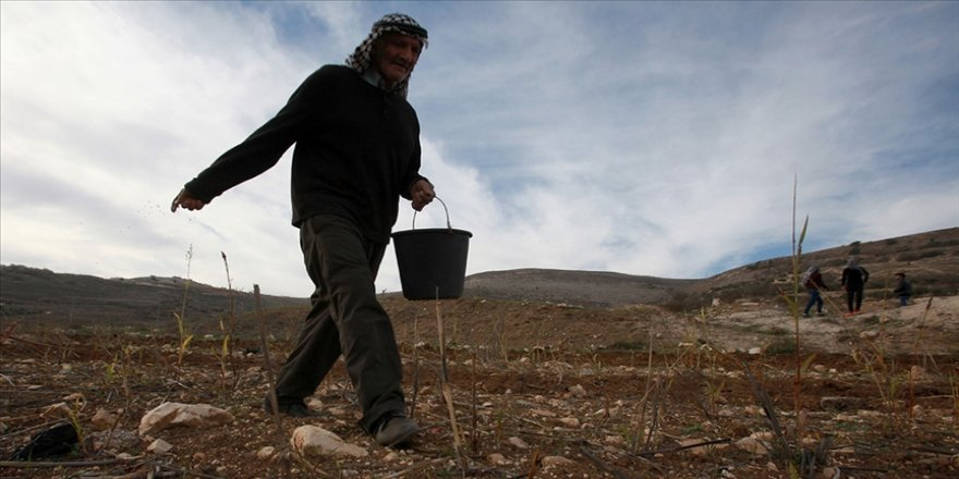 İsrail Batı Şeria'da Filistin'in 147 dönüm arazisine el koydu