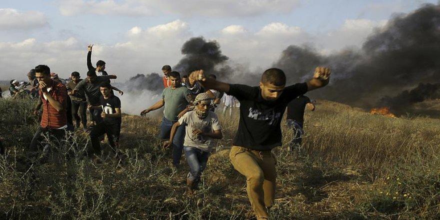İsrail'in saldırılarında 38 binden fazla Filistinli yerinden edildi