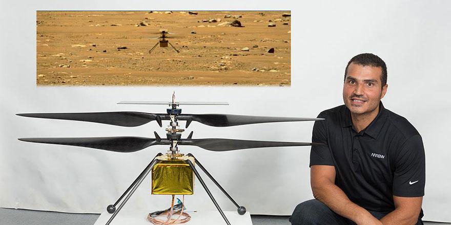 'Gazzeli mühendis'in NASA'daki başarısı