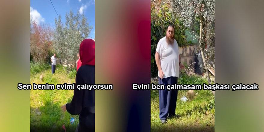 Filistinlinin evini gasp eden İşgalci Yahudi: Evini ben çalmasam başkası çalacak