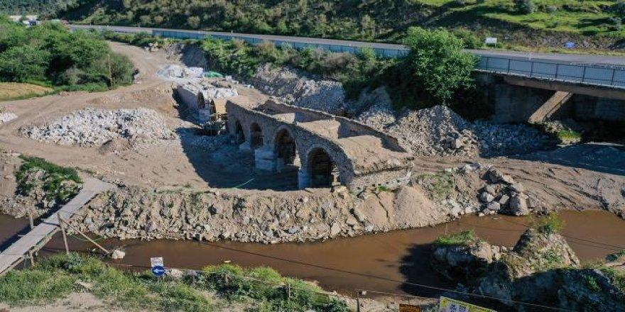 Muğla'daki tarihi Sarıçay Köprüsü restore ediliyor