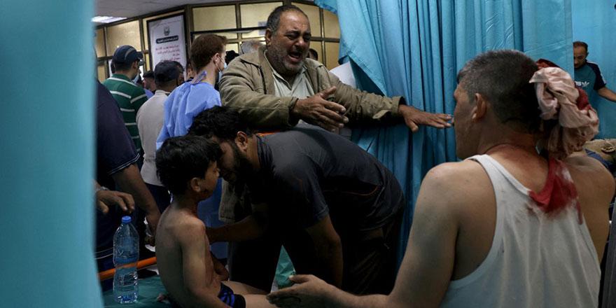 İşgalci İsrail zehirli gaz kullanıyor şüphesi, şehit sayısı 83'e çıktı