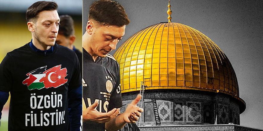 Mesut Özil: Filistin'deki kardeşlerim dualarım sizinle