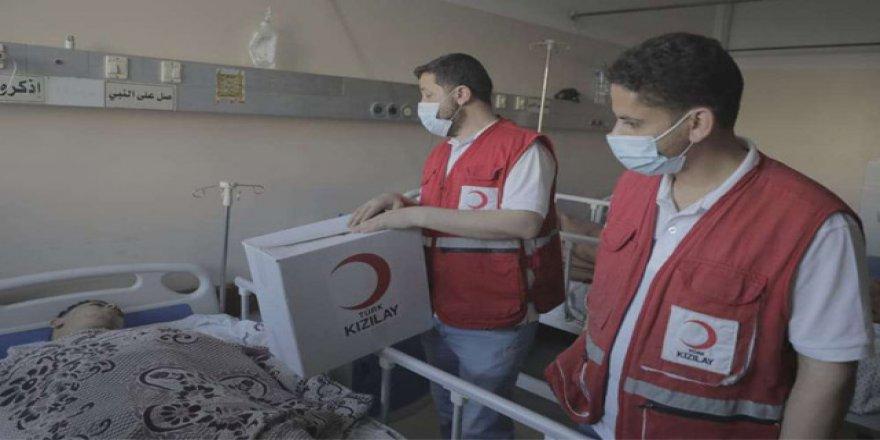 Kızılay'dan Filistin için acil eylem planı