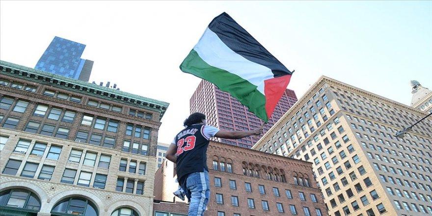 ABD'de bir üniversite duvarına yazılan Filistin'e destek yazıları için nefret suçu soruşturması