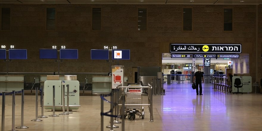İsrail'e tüm uluslararası uçuşlar durduruldu