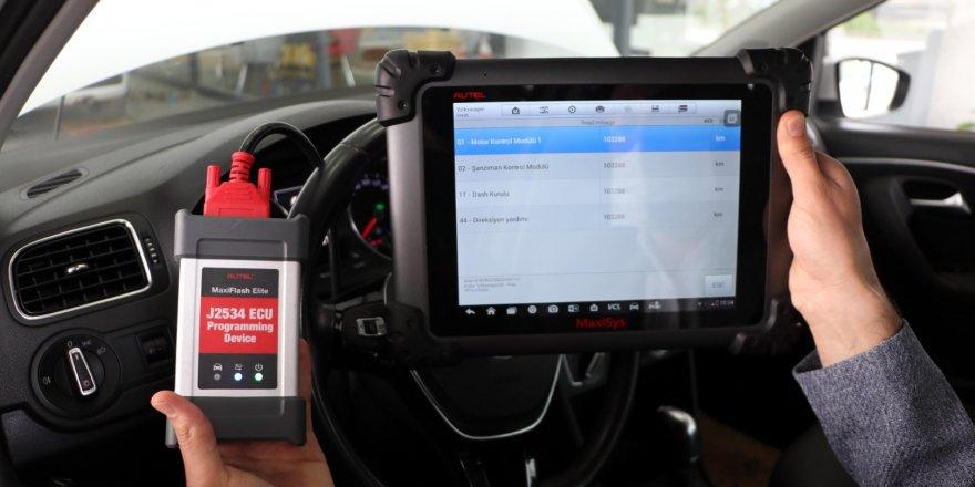 Araçlarda 'kilometre dolandırıcılığı' arıza tespit cihazıyla önleniyor