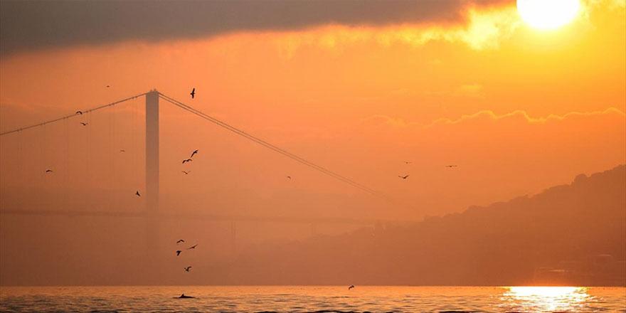 İstanbul'da gün doğumu
