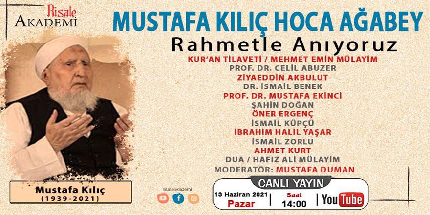 Mustafa Kılıç (Hoca abi) anma programı