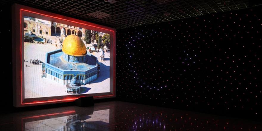 Geçmişten Bugüne Kudüs 360 Dijital Gösterimi açıldı