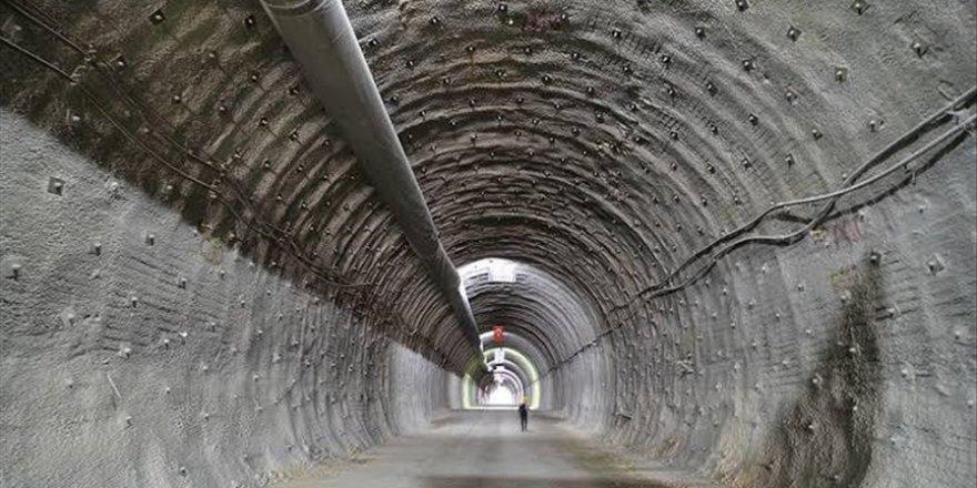 'Kırkdilim'in T1 tünelinde kazı çalışmaları yüzde 80 tamamlandı