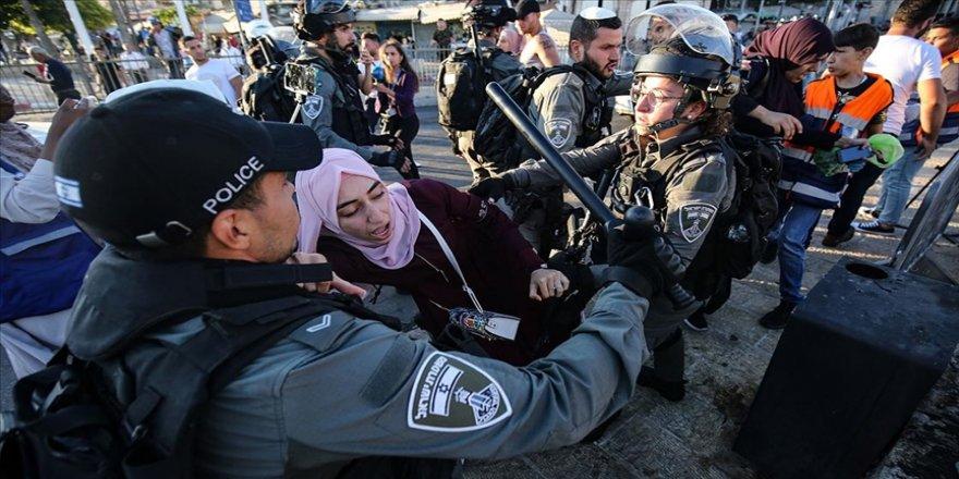 İsrail 2021'in ilk yarısında Filistin'de basın özgürlüğünü 253 kez ihlal etti