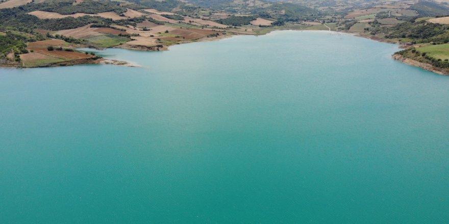 Yağışlar Kırklareli'ndeki barajlarda su seviyesini yükseltti