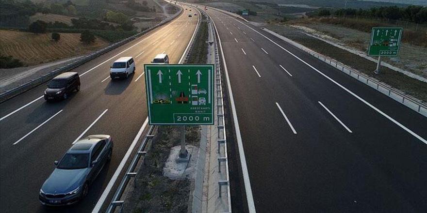 Otoyollarda hız limitleri arttırılıyor