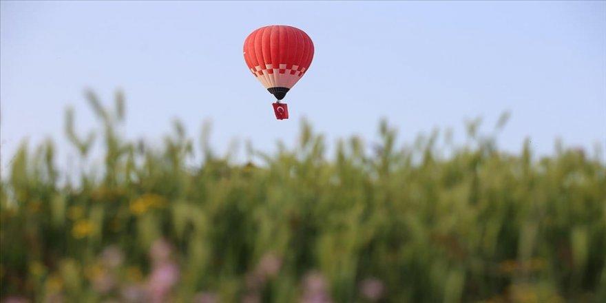 Yerli ve milli imkanlarla üretilen ilk sıcak hava balonu ihraç edildi
