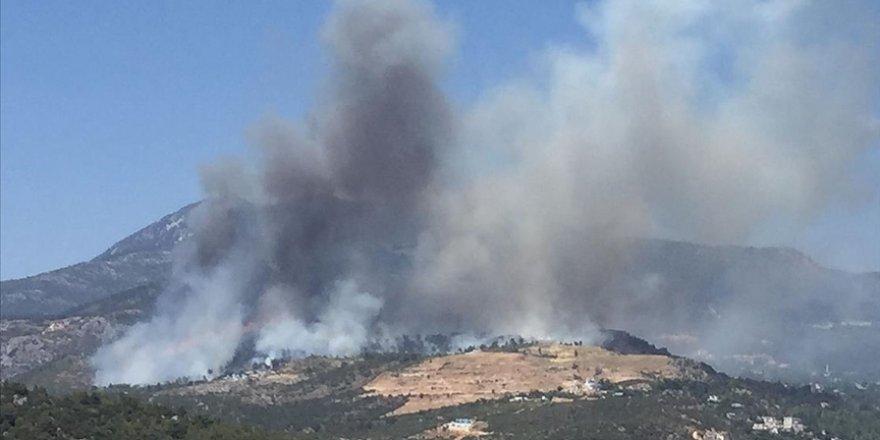 İHA sayesinde orman yangını önlendi!