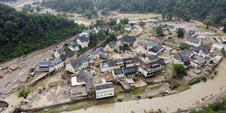 Avrupa'daki aşırı yağışların, 2100 yılına kadar karalarda 14 kat artması bekleniyor